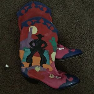 Shoes - Zalo cowgirl boots